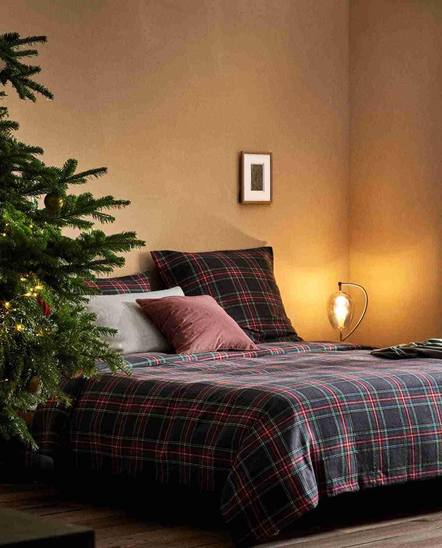 dormitorios de zara home retrato de navidad