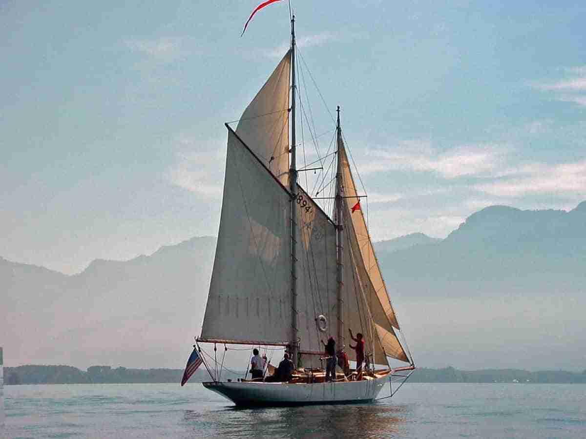 montreux a orillas del lago leman
