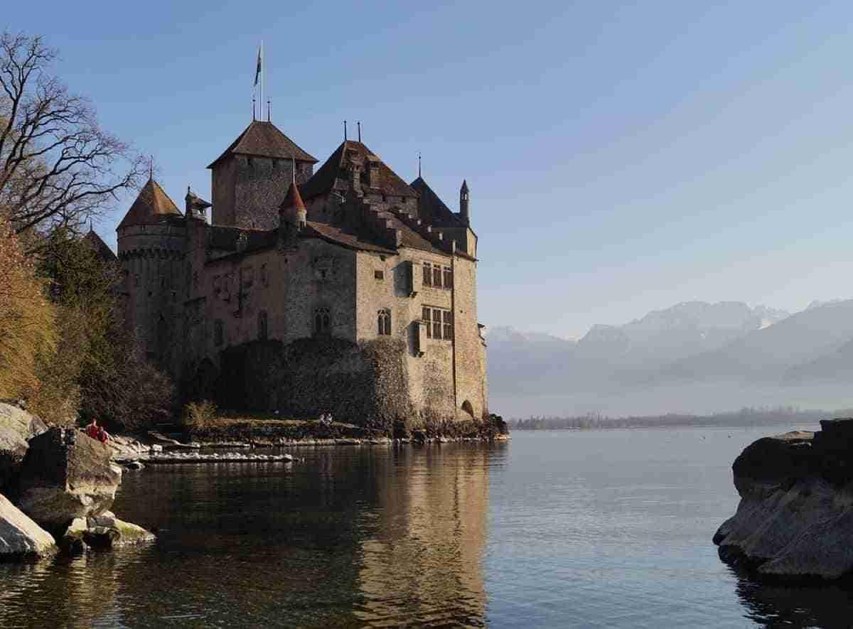 castillo de chillon en montreux