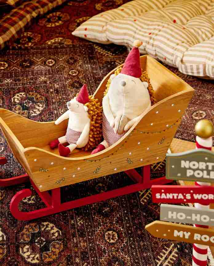 dormitorios infantiles de zara home retrato de navidad