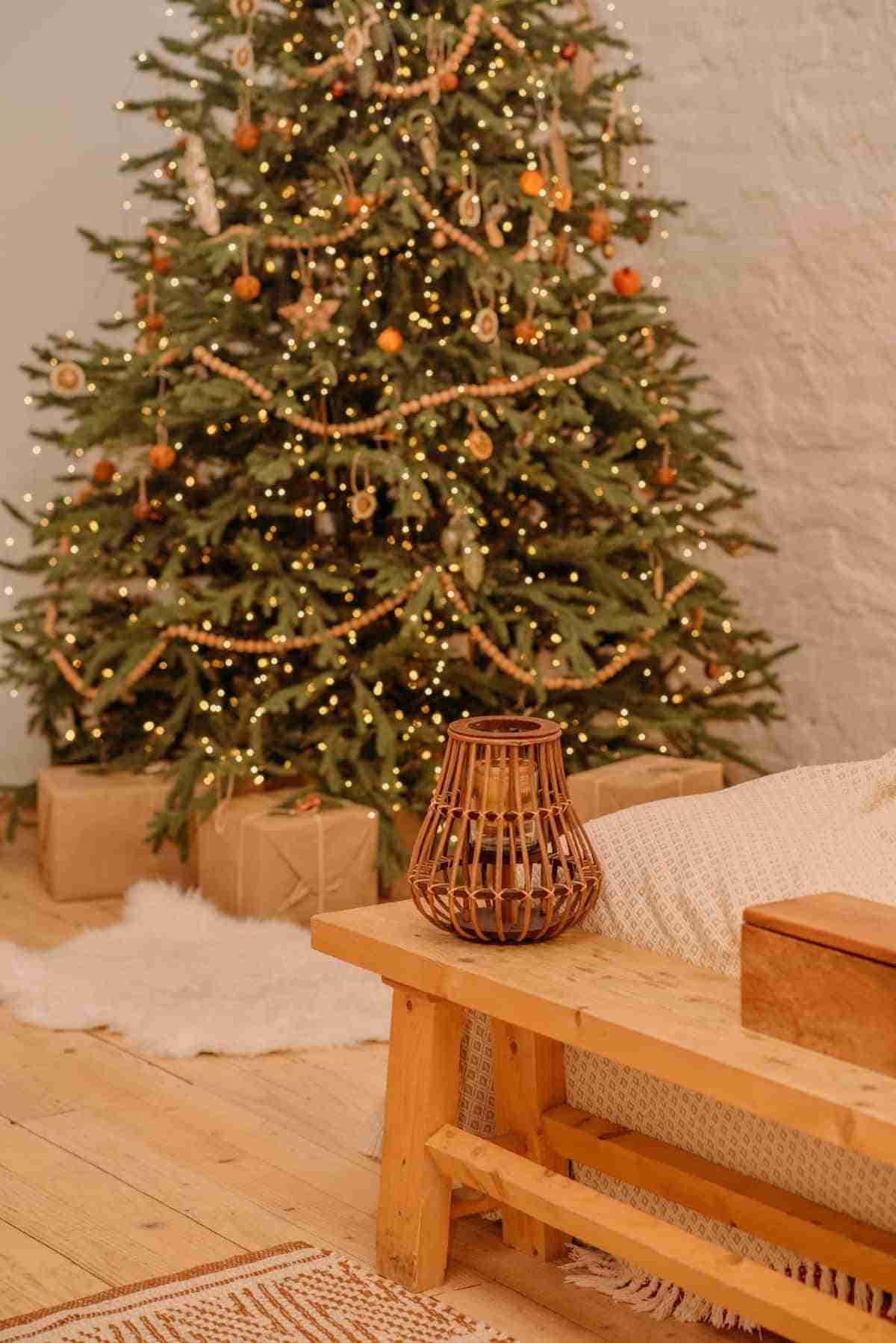 arboles navidenos para dormitorios