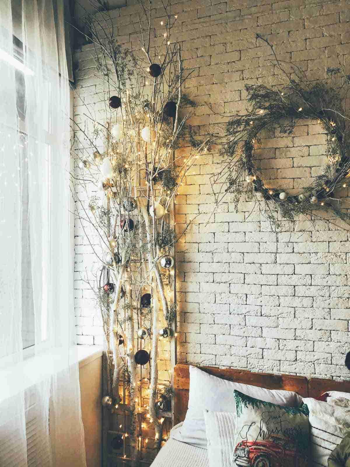 arboles navidenos para tu dormitorio