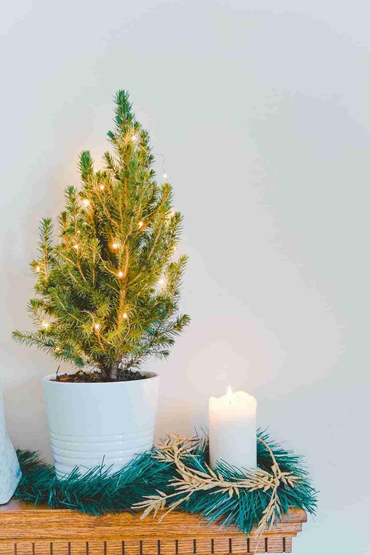 decoracion diy parala mesa navidena