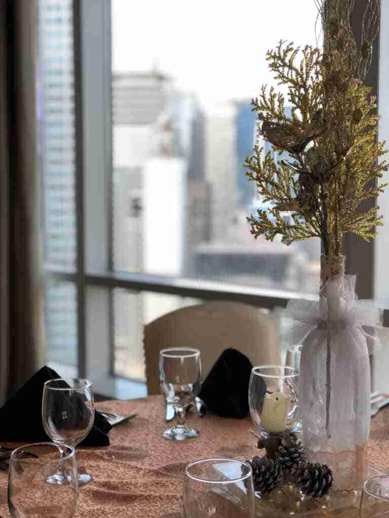 diy arbolito navideno para la mesa