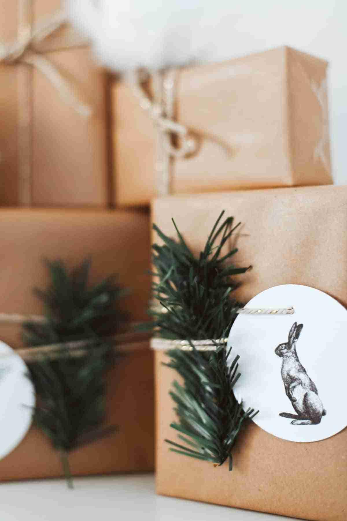 envolver regalos diy navidad