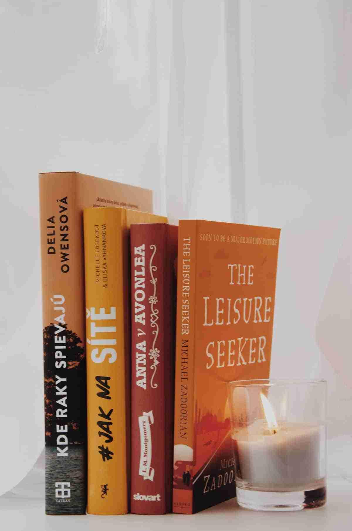 velas y libros