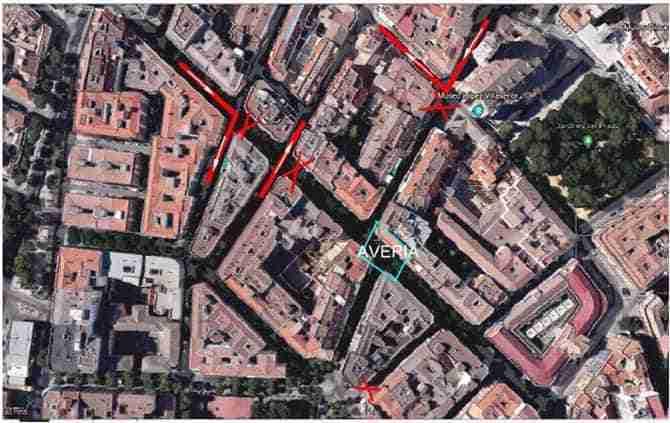 Mañana jueves se cortarán al tráfico las calles Postas y Morería por obras de canalizaciones en la calzada