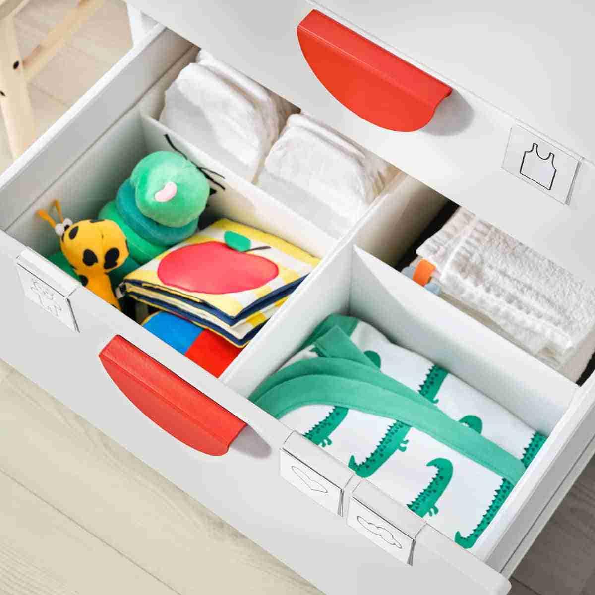 cajas organizadoras para ambientes infantiles