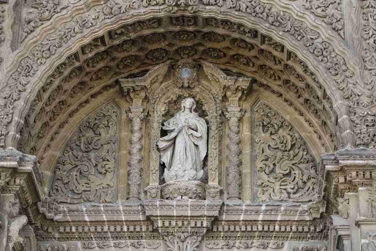 detalle de la catedral de jerez