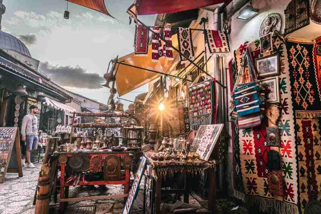 mercado de sarajevo