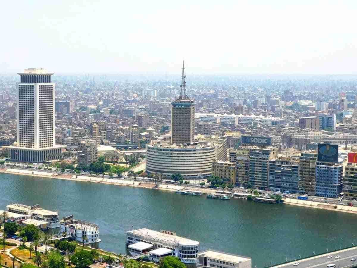 paisaje de la ciudad de el cairo