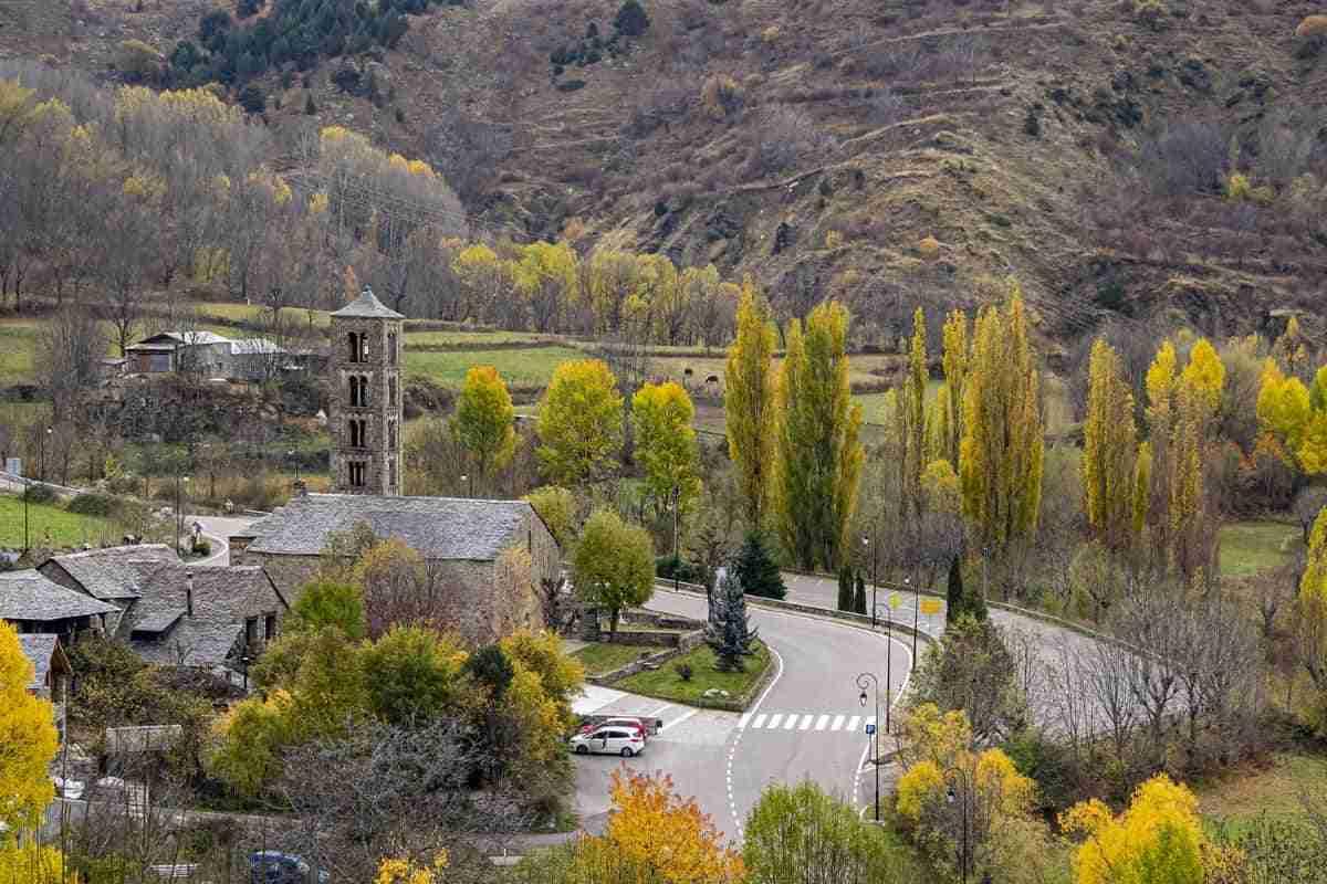 paisaje de lerida espana
