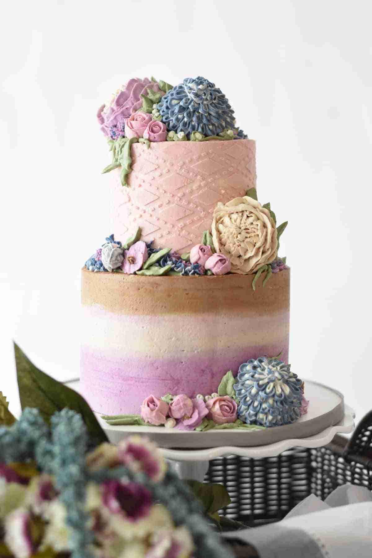 pastel para bodas multicolor