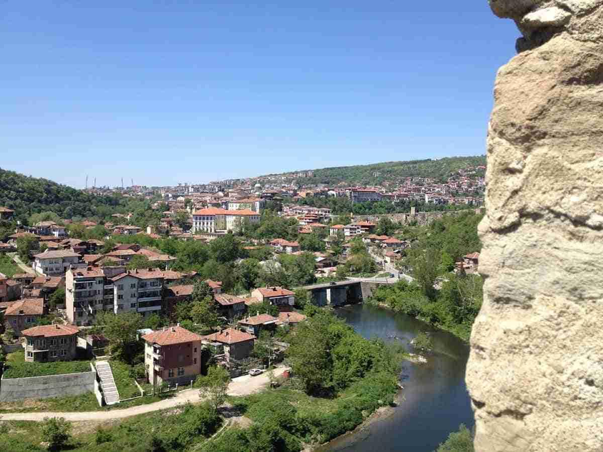 vista de sarajevo y el rio