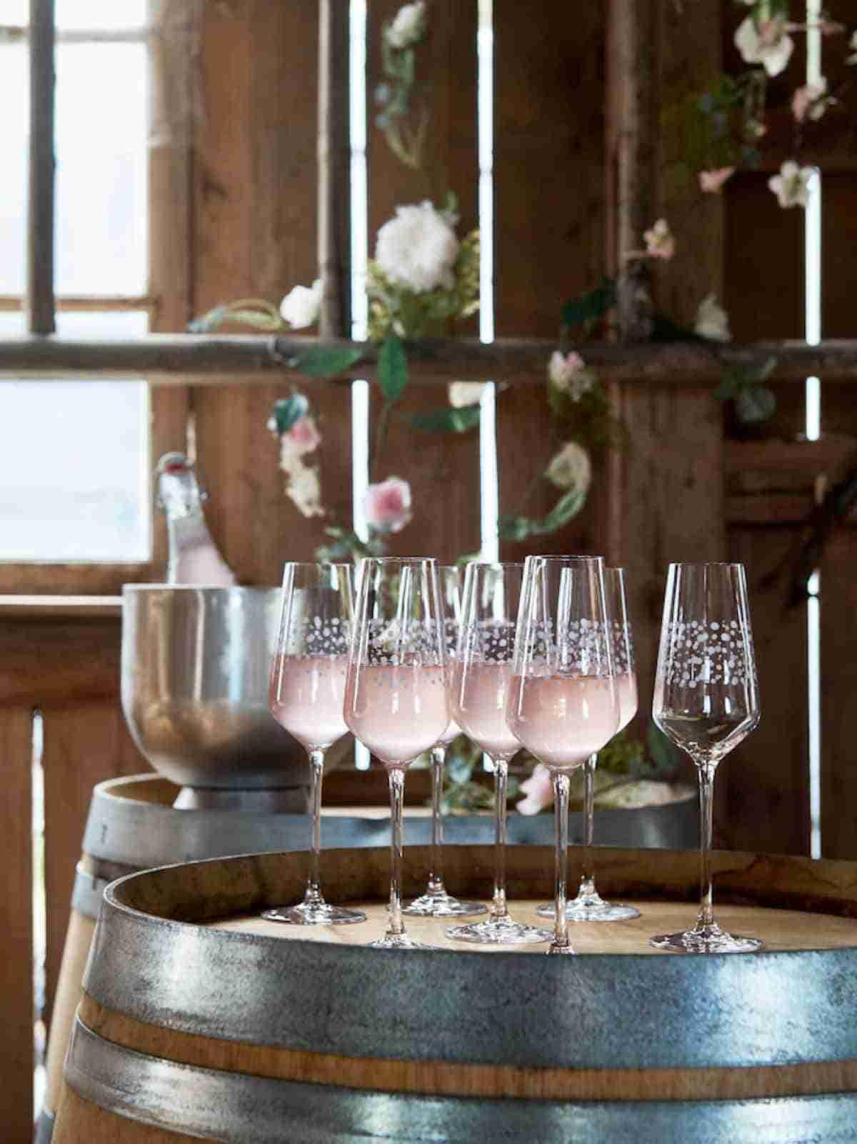 copas para champan ikea primavera
