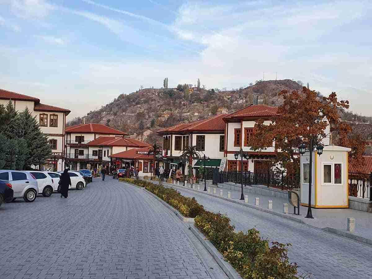 vista de la ciudad de ankara