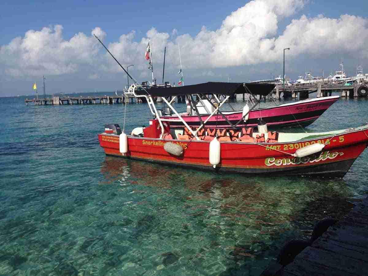 aguas cristalinas en isla mujeres