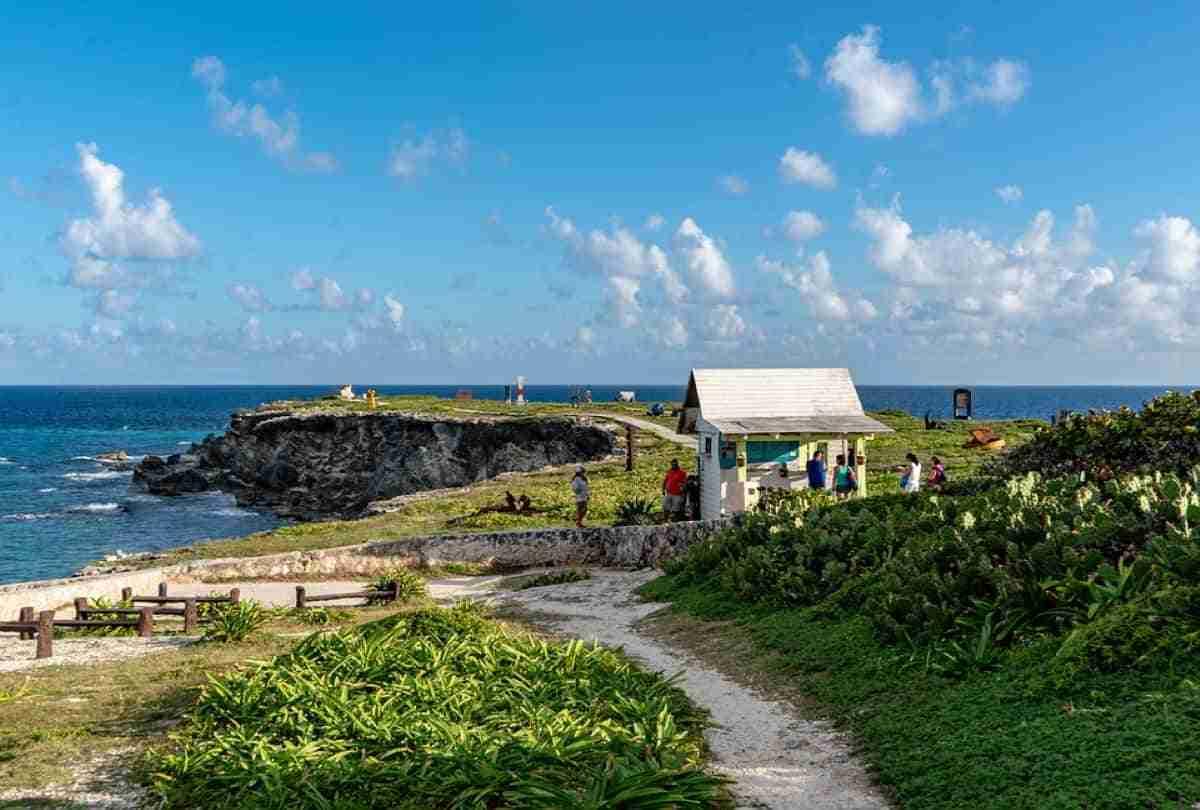 vista de la isla mujeres
