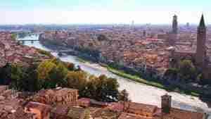 ciudad de verona italia
