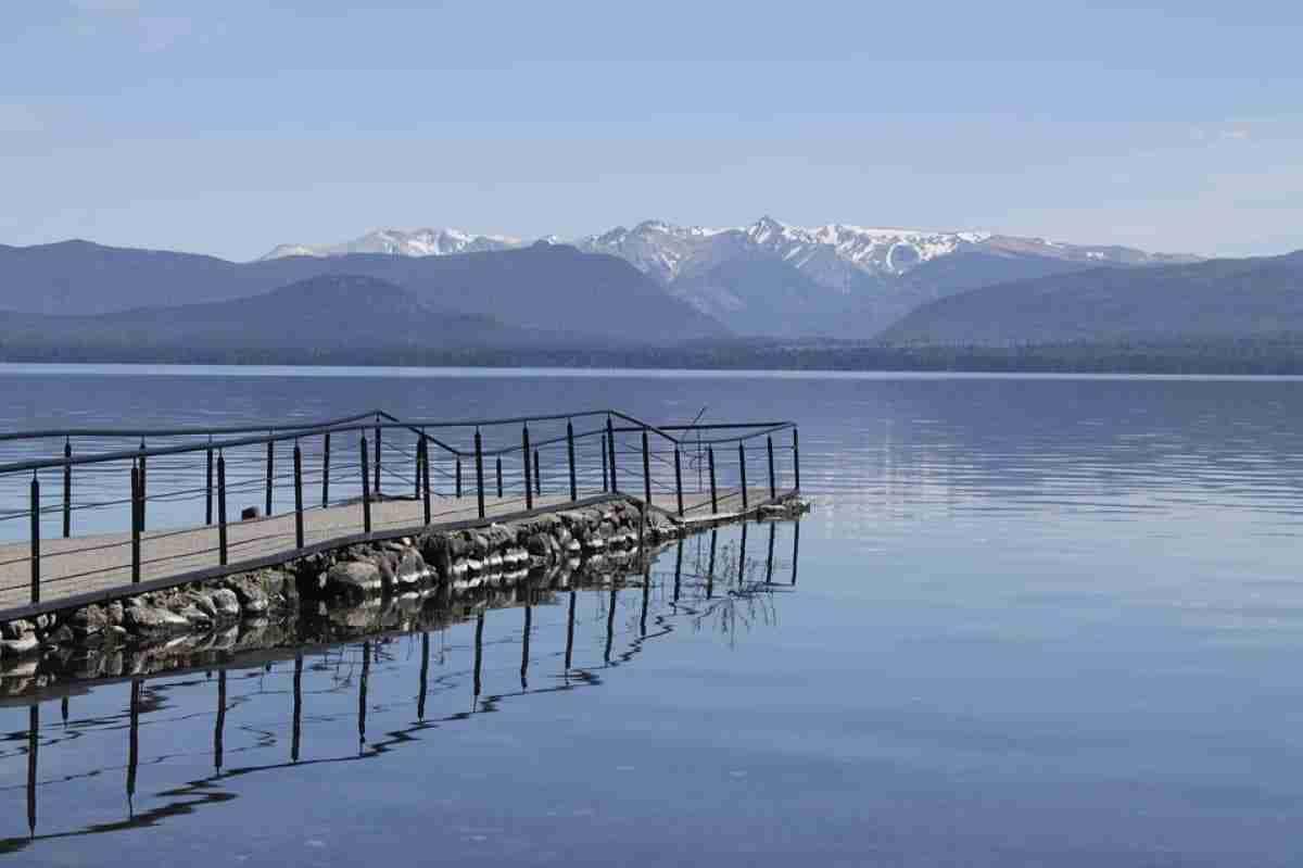 lago nahuel hapui en bariloche