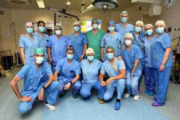 El Servicio de Traumatología del Hospital de Talavera incorpora una nueva técnica quirúrgica para tratar las lesiones del manguito rotador