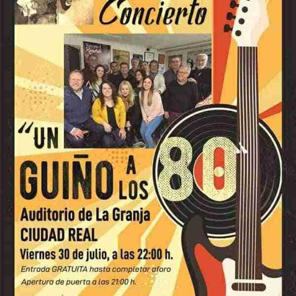 La Asociación Amigos de Javier Segovia recupera el espíritu de los ochenta en un concierto en el Auditorio La Granja