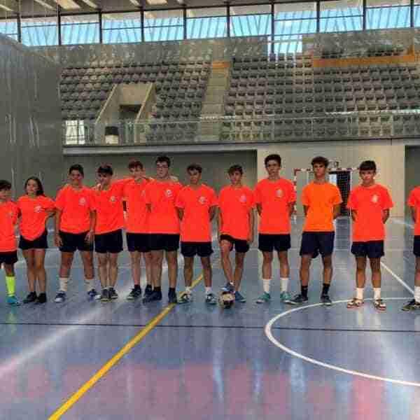 Inicio del II Campus de Fútbol Sala en Alcázar de San Juan