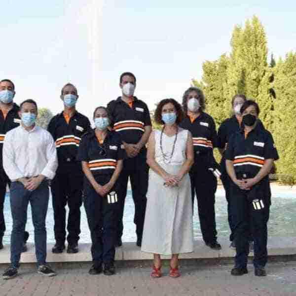 Agrupación de Voluntarios de Protección Civil elegidos «Churriegas y Churriegos Ejemplares»