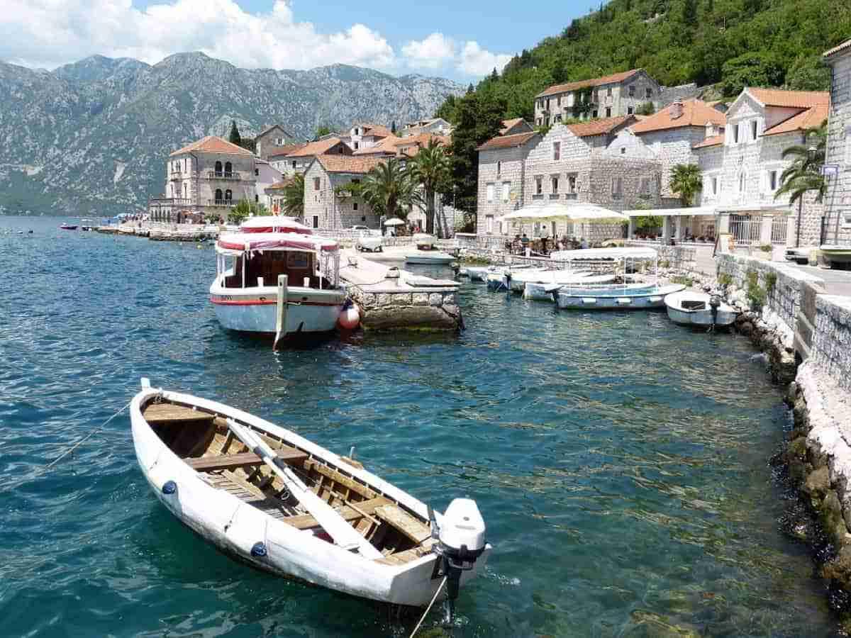 ciudad de kotor en montenegro