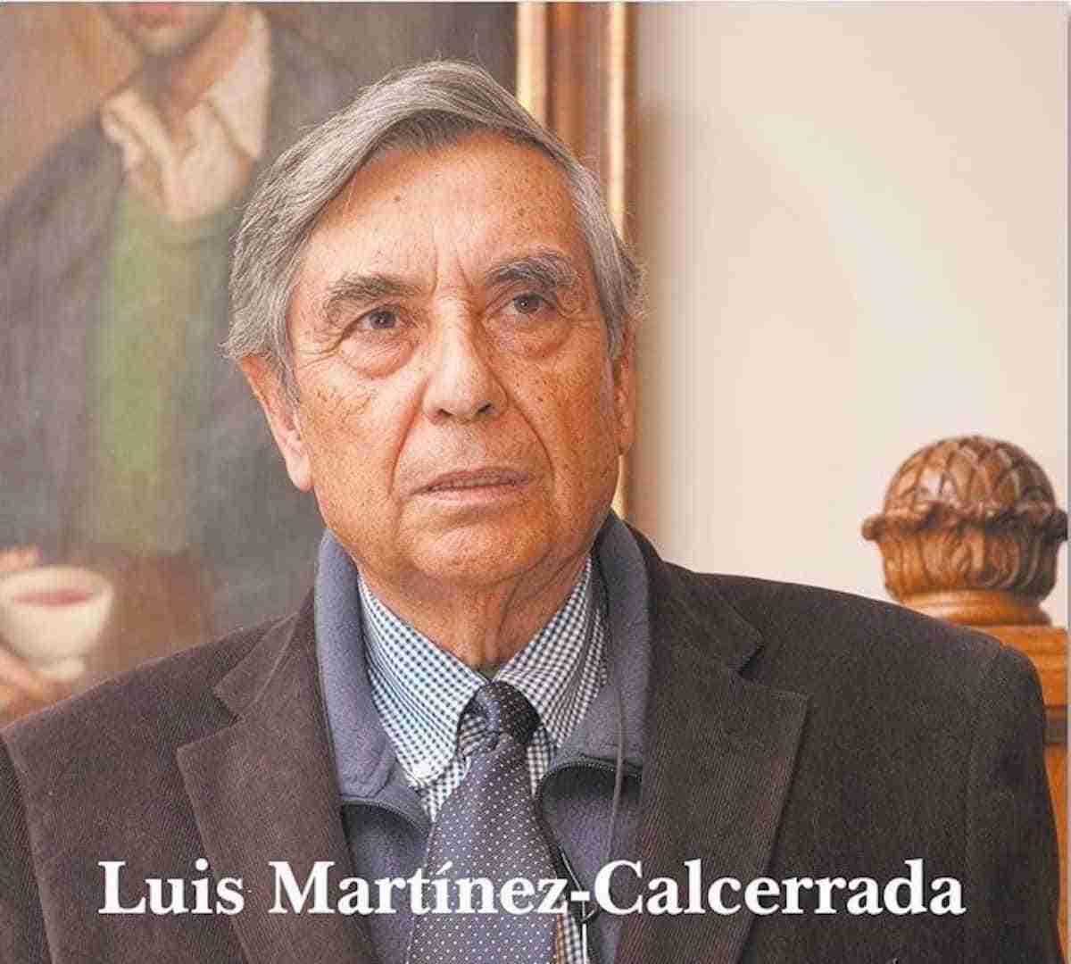 Fallece Don Luis Martínez-Calcerrada y Gómez, hijo predilecto de Herencia