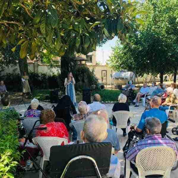 La Residencia Ntra. Sra. el Rosario celebra el mes del abuelo con varias actividades