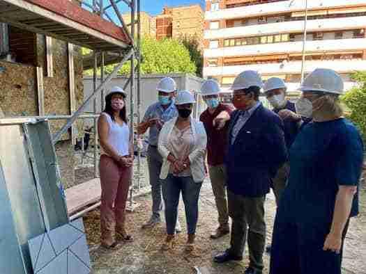 Supervisión de la rehabilitación de las fachadas de la Residencia de Mayores Virgen del Prado, de Talavera de la Reina