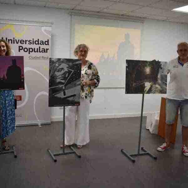 """""""Tierra, agua y fuego"""" de Raúl Panadero gana el primer certamen fotográfico organizado por la Universidad Popular de Ciudad Real"""