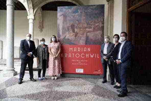 80 obras del pintor polaco Marian Kratochwil se exponen ya y hasta el 3 de octubre en el Museo de Santa Cruz de Toledo