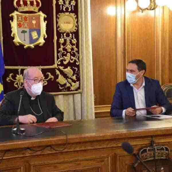 Renovado acuerdo de colaboración de la Diputación de Cuenca y el Obispado con inversiones en 16 iglesias parroquiales