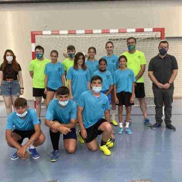El VII Campus del Futsal Alcázar reúne a una veintena de jugadores en el Vicente Paniagua