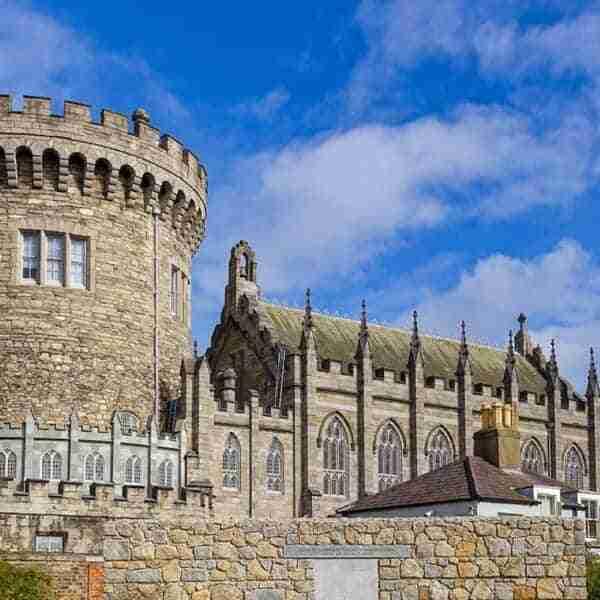 Vikinga y medieval ciudad de Dublín en Irlanda