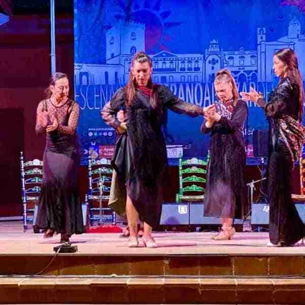 La Peña Flamenca de Alcázar celebró el 25º aniversario de su Gala Flamenca con la actuación del cantaor gaditano Jesús Castilla