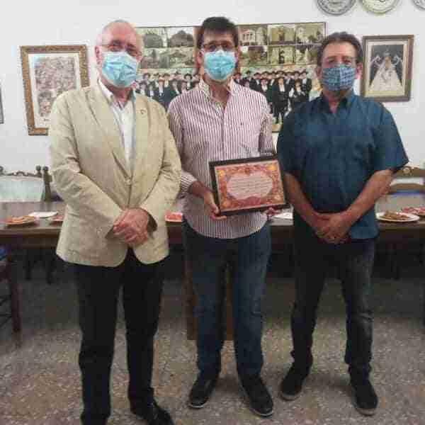La Hermandad de Pandorgos reconoce el apoyo de la Diputación provincial de Ciudad Real