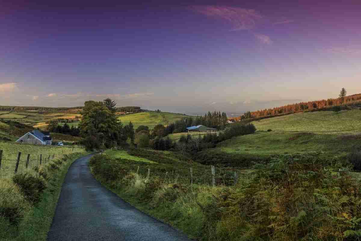 paisaje de dublin irlanda