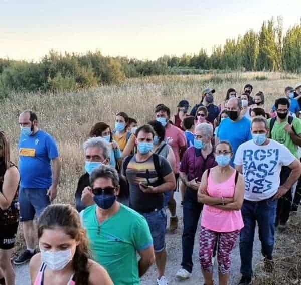 """Ruta de senderismo """"Historias y secretos del río Cigüela"""", más de 90 personas disfrutaron del atractivo en Villarrubia de los Ojos"""