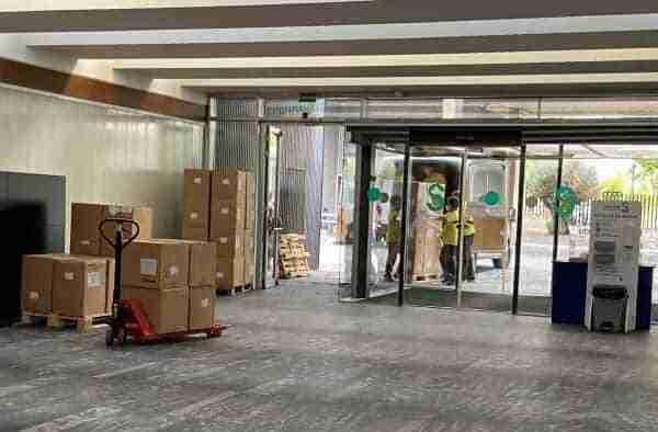 Castilla-La Mancha ha distribuido esta semana más de 150.000 artículos de protección en los centros sanitarios