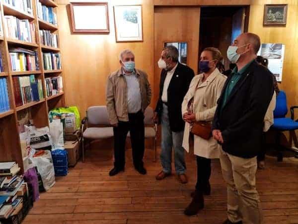 La Cornisa celebra el Día del Socio con la inauguración de su sede en la Torre del Hierro rehabilitada por el Ayuntamiento