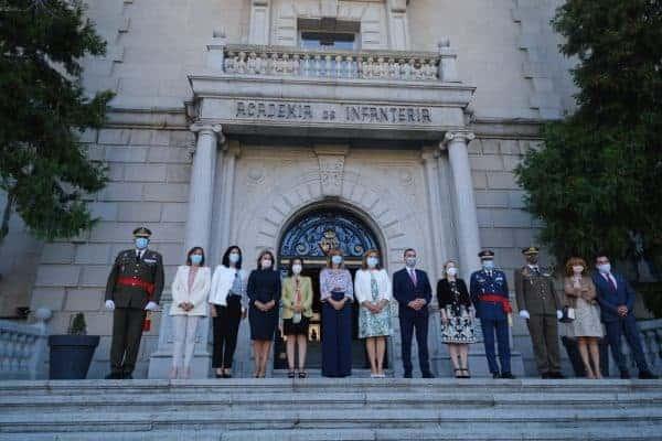 """La alcaldesa de Toledo, en la apertura del curso de la Academia de Infantería, un acto que """"refuerza los lazos históricos que nos unen"""""""