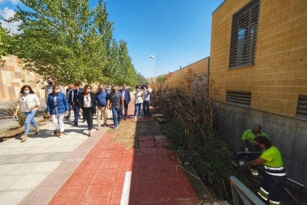 La vicepresidenta Ribera y la alcaldesa de Toledo visitan las zonas afectadas por la DANA para buscar soluciones a las inundaciones