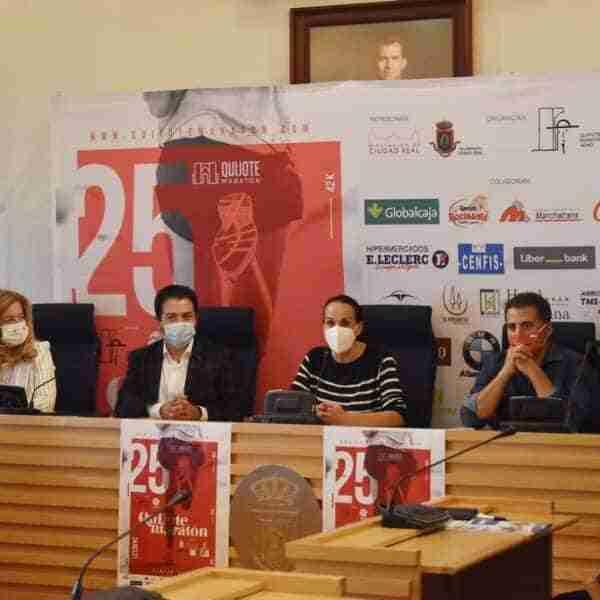 Vuelve el Quijote Maratón de CLM a Ciudad Real, que se celebrará el 24 de octubre en su edición de plata