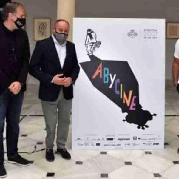 Presentación del cartel de la XXIII edición de Abycine, que homenajea al director Luis García Berlanga