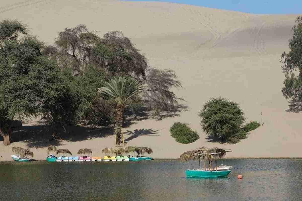 desierto de huacachina en peru