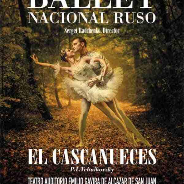El Ballet Nacional Ruso regresa al Teatro Auditorio Emilio Gavira de Alcázar de San Juan con 'El Cascanueces'