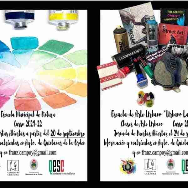 La Escuela Municipal de Pintura y la Escuela de Arte Urbano abren el plazo de matriculación